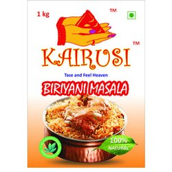 KAIRUSI Biryani Masala, Packaging Size: 1 KG, Packaging Type: Packets