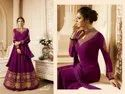 Bollywood Ethnic Faux Georgette Ladies Long Dress