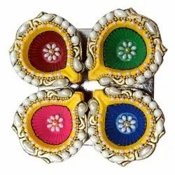 Golden Stone Diya 7092004891336