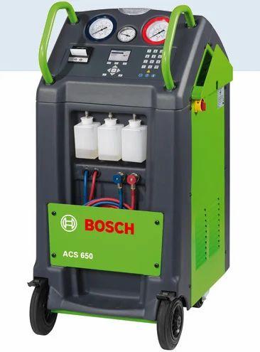 Robinair Ac Machine >> Bosch And Robinair Refrigerant Recovery Machine