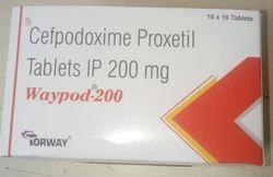 Cefpodoxime-200 Tab