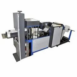 Double Color Double Embossing Napkin Making Machine