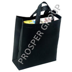 Black Non Woven Box Bags with Loop Handle, Capacity: 2kg