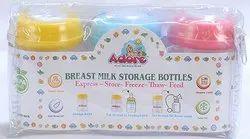 Adore Baby Milk Bottle, Capacity: 250 Ml, Packaging Type: Plastic Bag