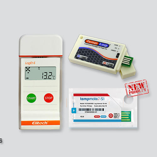 Elitech LogET 6 Single Use Temperature Data Logger