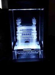 3D Engraving Charminar Monument