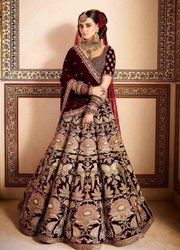 Antique Work Lehengas