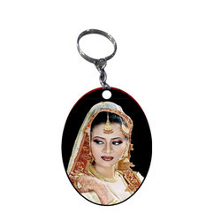 Oval Shape Keychain