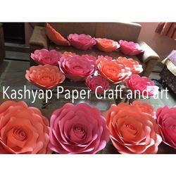 Paper flower paper flower pitampura delhi kashyap paper craft rose paper flower mightylinksfo