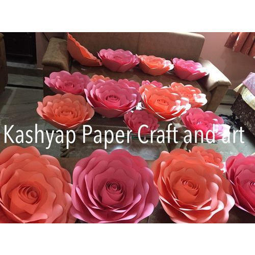 Kashyap Paper Craft Rose Paper Flower Rs 150 Piece Kashyap Paper