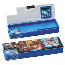 Magnetic Pencil Box With Calculator - 1609