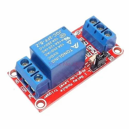 1 Channel 5V,12V 10A Relay Control Board Module with & without  Optocouplers