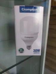 Crompton 30 W Led Bulb, for Office, Base Type: B22