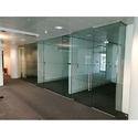 Transparent Plain Toughened Glass Partitions