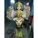 Marble God Khodiyar Maa Statue