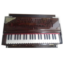 3 Line Bass Male Female Portable Harmonium Without Coupler 42 Keys