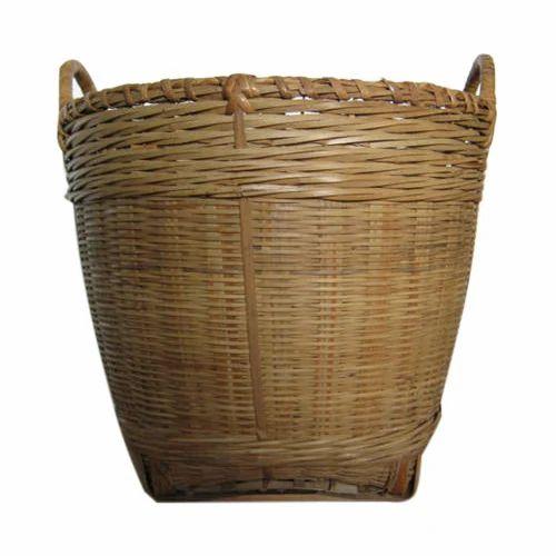 Bamboo Gardening Basket Baans Ki Tokri Sagar Trading Jalpaiguri