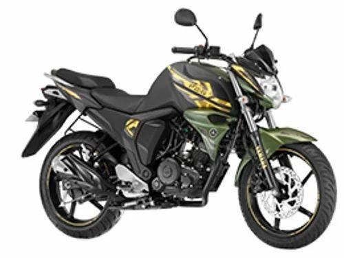 Matt Green Fzs Fi Military Green Motorcycle, Yamaha Fzs ...