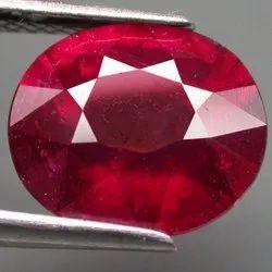 6 Carat Natural Burma Ruby Stone