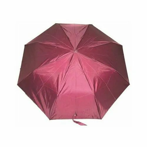 13c1f6695df3d K.C. Paul & Sons Plain Two Fold Polyester Umbrella, Size: 21.5 Inch ...