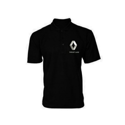 Customized Black Polo T Shirt