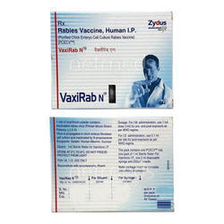 Vaxirab Vaccine Anti Rabies Injection, Packaging Size: 2.5IU X 0.5mL