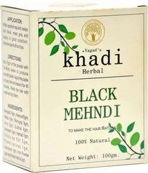 Khadi Herbals Henna Black Mehndi, Pack Size: 100 gm, for Parlour