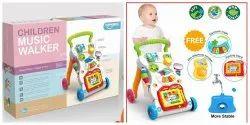 Colourfull Plastic Children Music Walker Toy