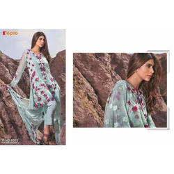 Fepic Rosemeen Lawn Semi-Stitched Suit