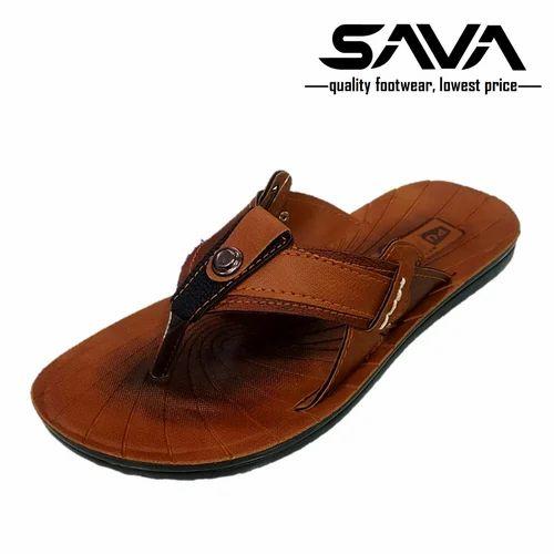 Pu Leather Flip Flops