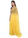 Yellow Party Wear Saree