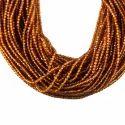 Honey Quartz Roundel Gemstone Faceted Beads