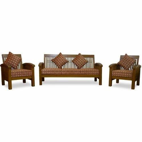 Teak Wooden Sofa Set At Rs 20000 Set Wooden Sofa Set Id 14558317712