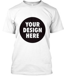 Printed Cotton Promotional T-Shirts