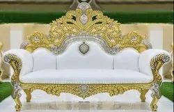 DST EXPORTS Maharaja Wedding Throne Chaise