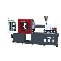 Microprocessor Controlled Horizontal Plastic Injection Molding Machine