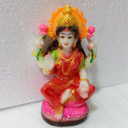 Poly Resin Laxmi Ji Statue