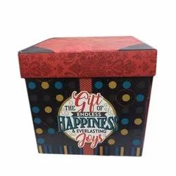 Graphic Printed Explosion Gift Box