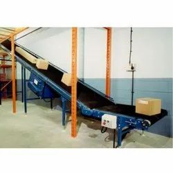 Floor Type Loading Unloading Conveyors