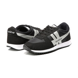 Unistar Jogging & Walking Shoes - 032 (Black)