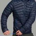 Decathlon Trek 100 Down Size l Navy Blue Pipe Men Mountain Trekking Down Jacket