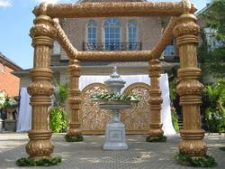 Fiber Glass Wedding Mandap