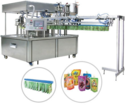 Automatic Self Spout Pouch Filling & Capping Machine