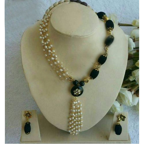 party wear oxidized necklace thread ethnic handcrafted jewellery