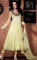Ladies Designer Yellow Churidar