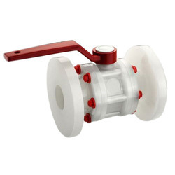 Polypropylene Flanged Ball Valve