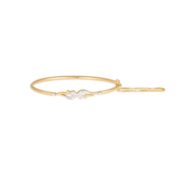 Tanishq Yellow Gold Bangle 501182VEFA1A02