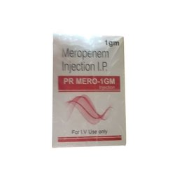 PR Mero 1 Gm Meropenem Injection
