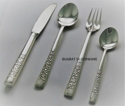 Rose Sterling Silver Cutlery