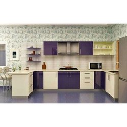 U Shaped Interior Modular Kitchen